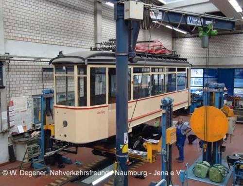 Fortsetzung der Arbeiten in Jena