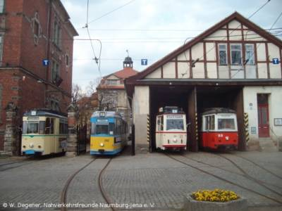 Depot der Naumburger Straßenbahn