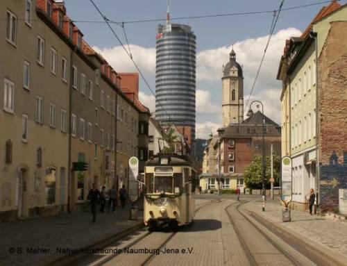 100 Jahre Straßenbahn nach Jena-Ost
