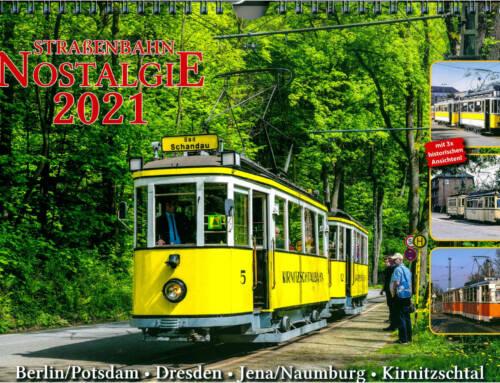 Straßenbahn-Nostalgiekalender 2021 erhältlich